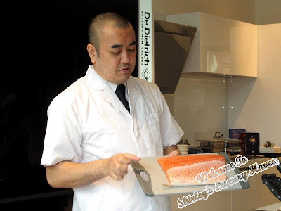 chef takahashi of hashi japanese restaurant