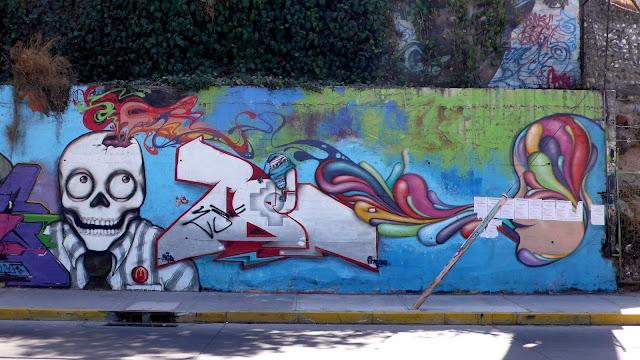 street art in santiago de chile maipú arte callejero