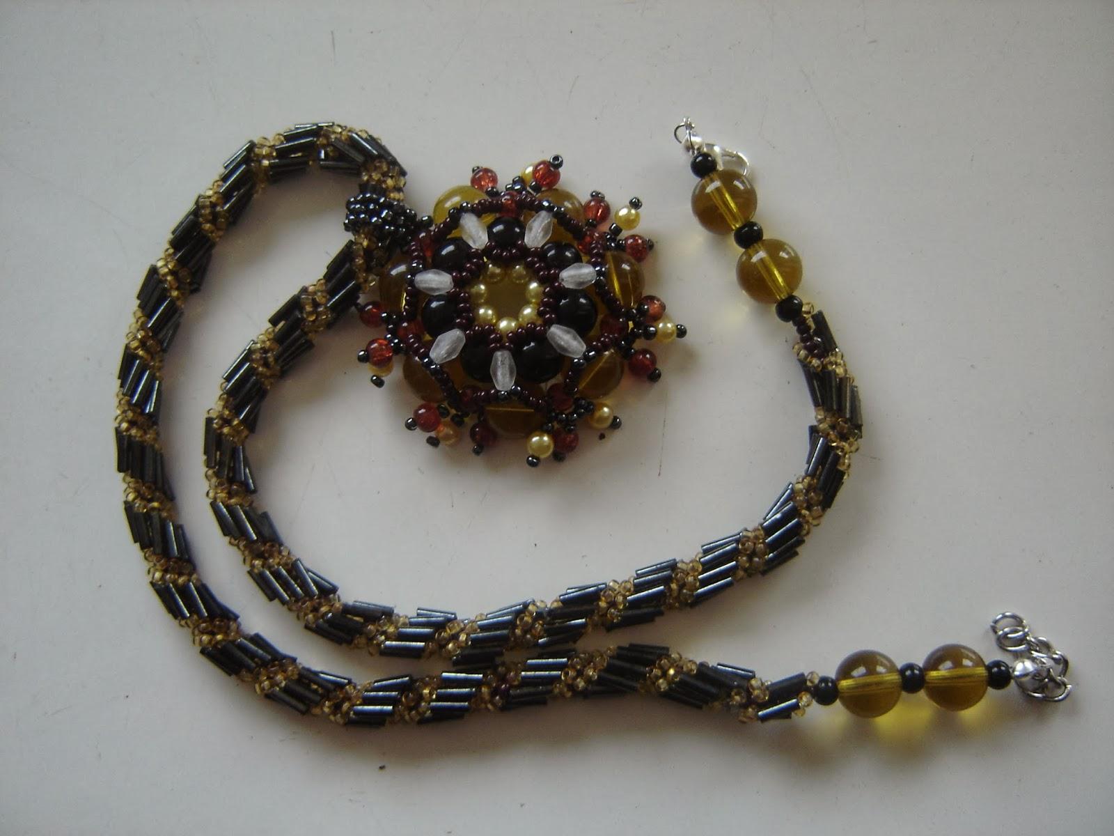 szklane koraliki,biżuteria