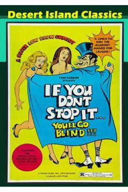 if you dont stop you'll go blind poster