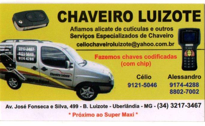 CHAVEIRO LUIZOTE