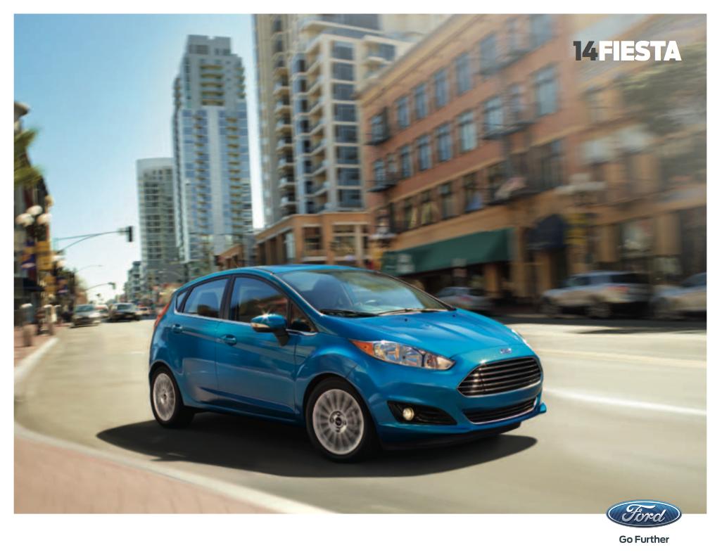 2014 Ford Fiesta Brochure
