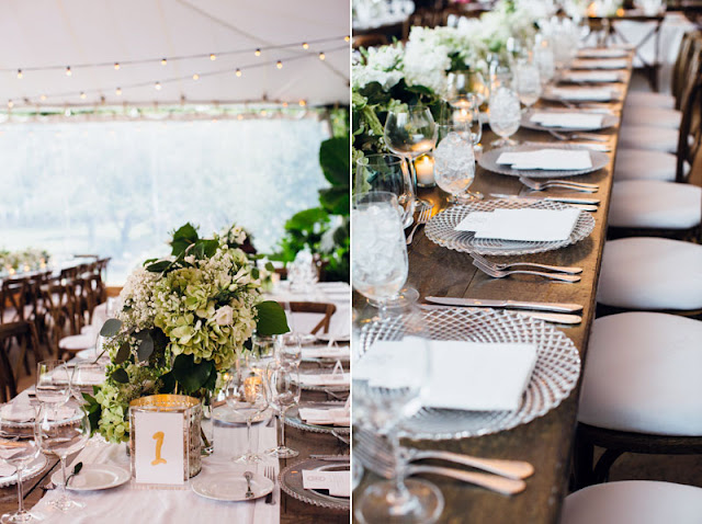 Classic Garden Wedding Reception
