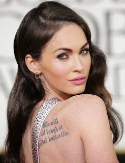 Megan Fox - World's Tattoos For Female