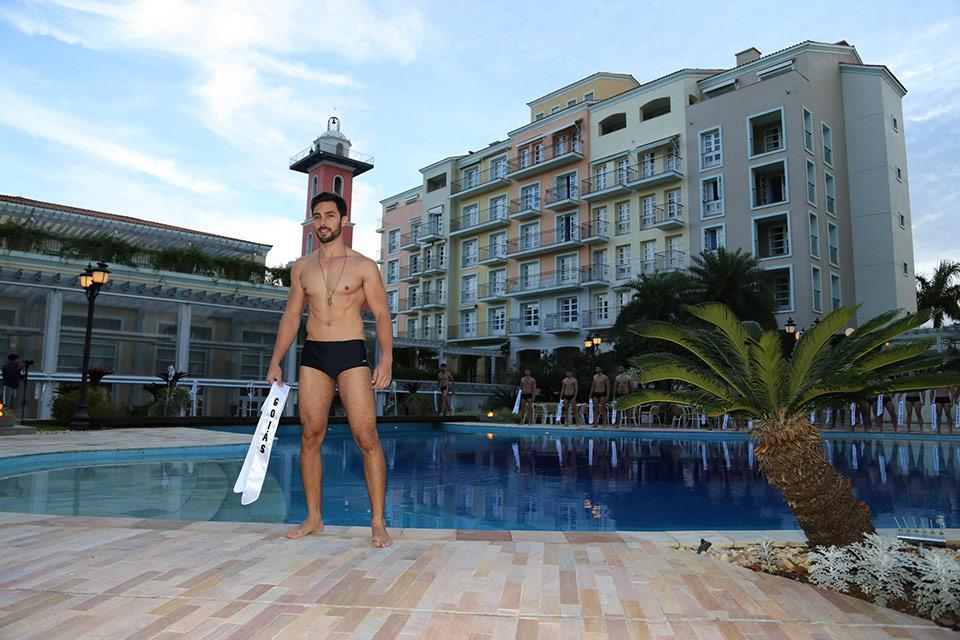 Mister Goiás -  Pablo Isaac, 21 anos, 1,88 m - Foto: Leonardo Rodrigues