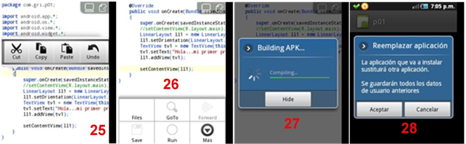 Evolución y Desarrollo Humano: Programación Android con AIDE y Java 2