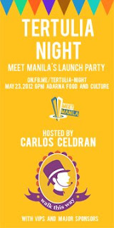 Meet Manila Launch Party: A Tertulia Night for #ThoughtfulTourism