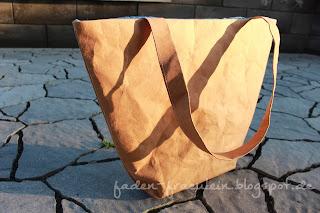 Handtasche aus SnapPap
