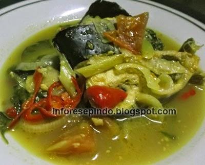 Cara Membuat Sup Ikan Patin Bumbu Kuning