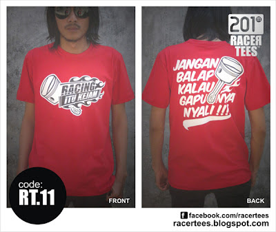 KAOS DRAG BIKE RACERTEES