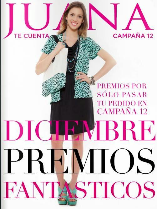 catalogo Juana te Cuenta Diciembre 2014