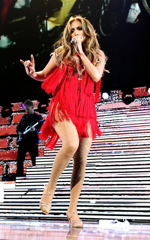 Jennifer Lopez Performs at the Rock in Rio Music Festival