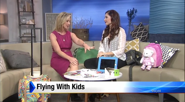Amy West on News 4 Jax Morning Show