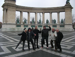 Our guests on Budapest, the Heros's space.