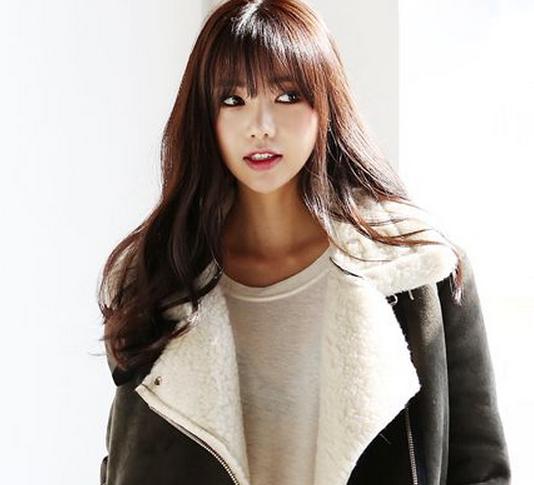 style rambut wanita panjang model korea