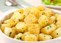 Batata Sauté com Ervas Frescas (vegana)