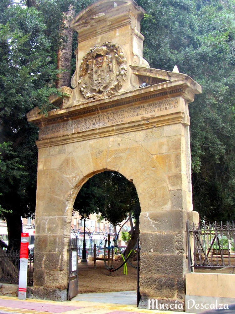 Puerta del Matadero Viejo. Murcia