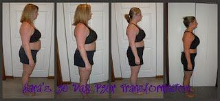 My transformation with P90X