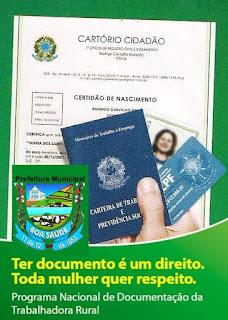 Mutirão de emissão de documentos em Boa Saúde