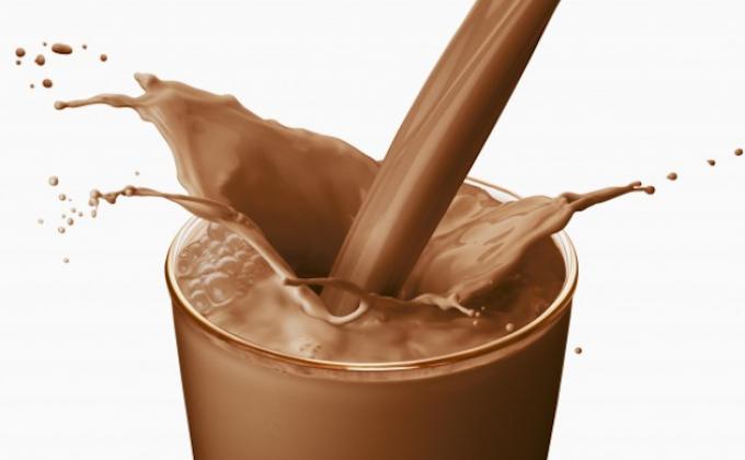 susu coklat