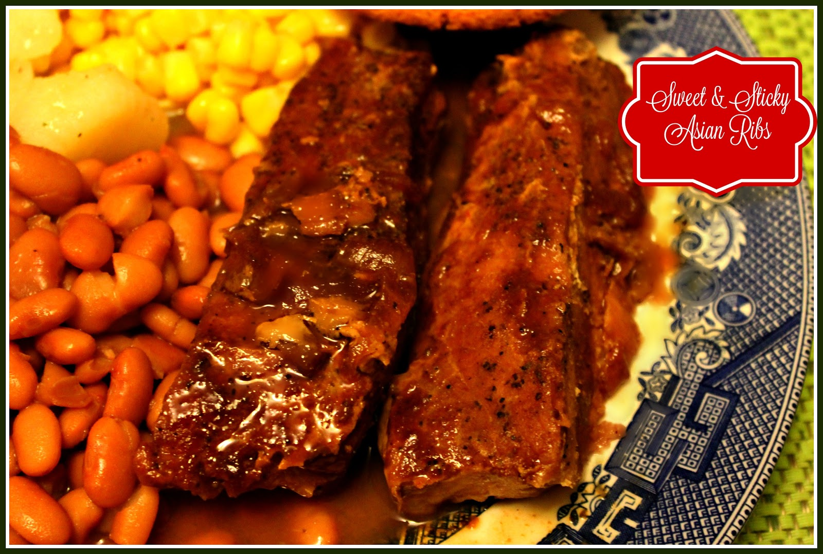 Cute and Asian country style ribs much longer