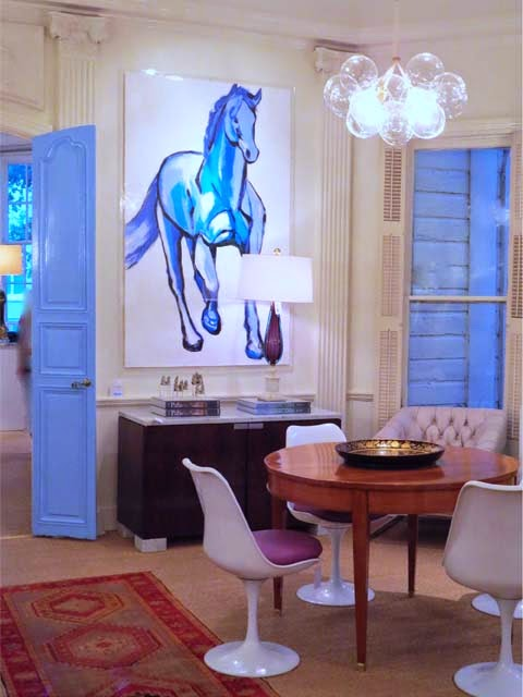 Inspired yet again blue doors blue horse blue print for Blue print store dallas