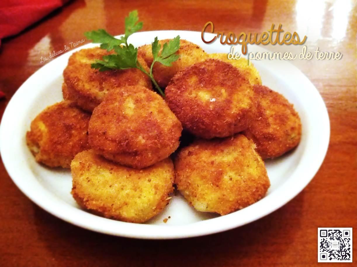 Croquettes de purée de pommes de terre farcies à la mozzarella