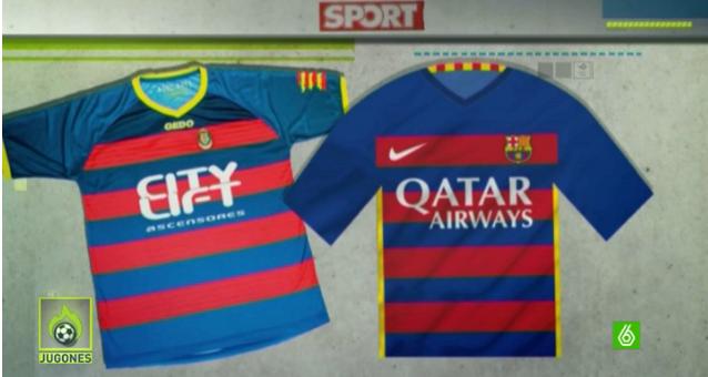 Nike pidió al Llagostera cambiar su equipación antes de estrenar la del Barça