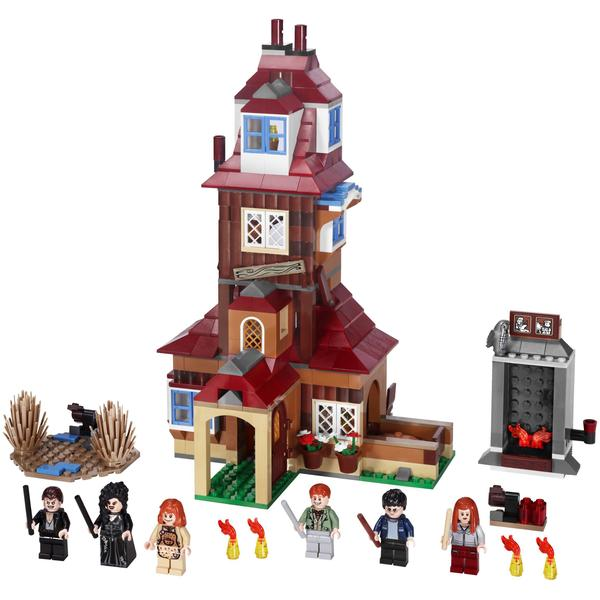 The Burrow Harry Potter ds Lego Harry Potter The Burrow
