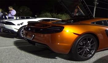 Lamborghini Huracan ve McLaren 12C Drag Yarışı