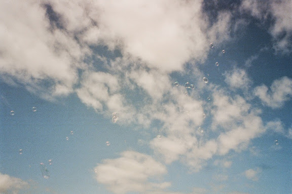 bubbles sky cloud