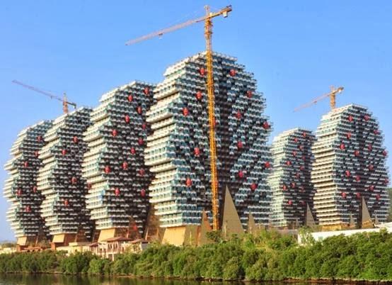 مجمع فنادق صيني أكبر الغرف العالم