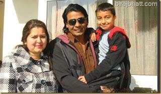 Viraj Bhat Family