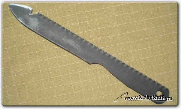 Не металлический нож своими руками