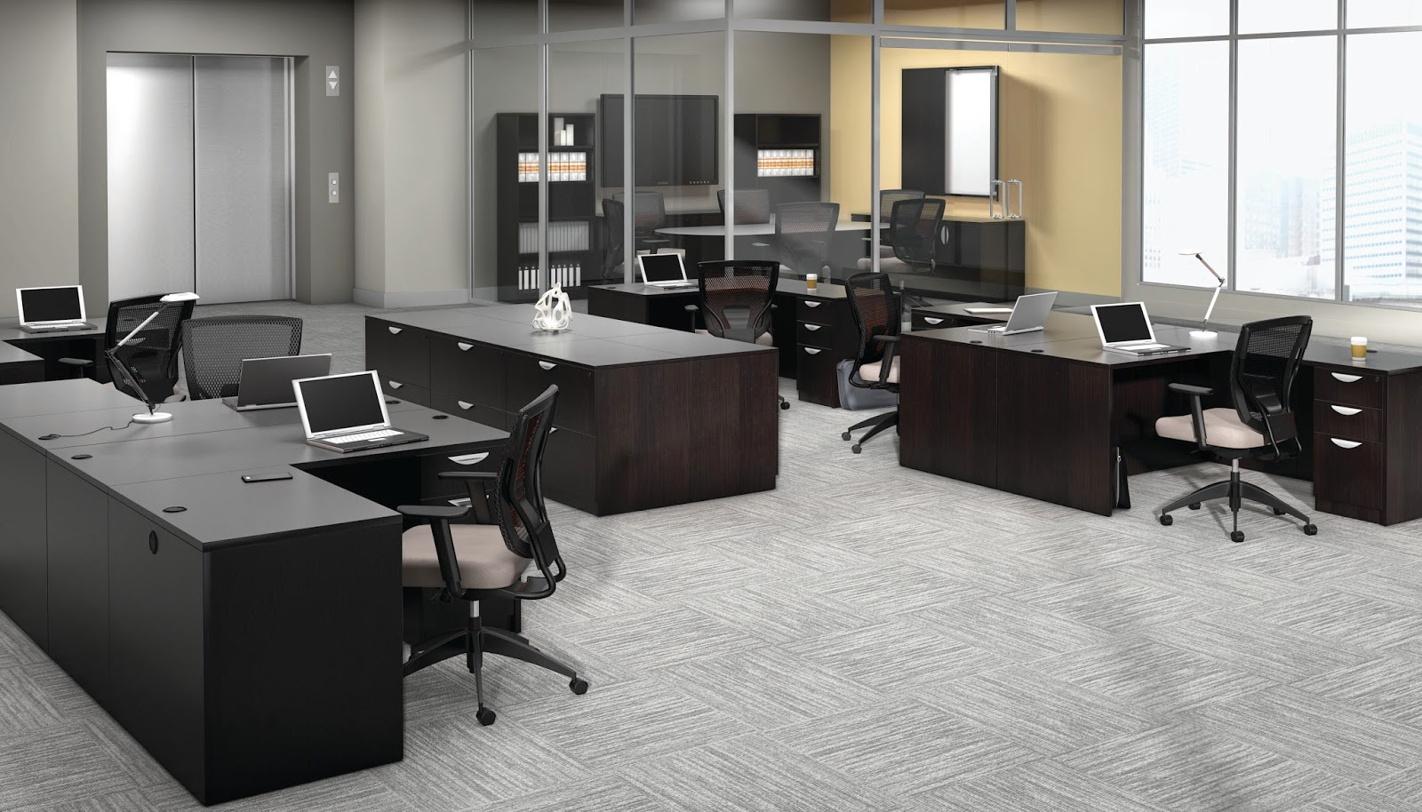 Offices To Go Superior Laminate Desking