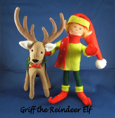 Griff the Reindeer Elf