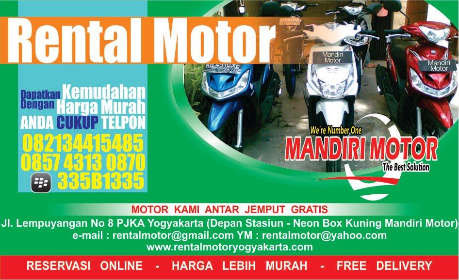 Rental Motor Jogja