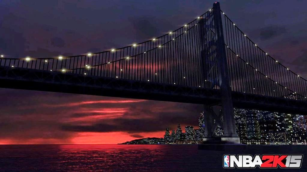NBA 2K15 New Flyers Park Bridge Screenshot