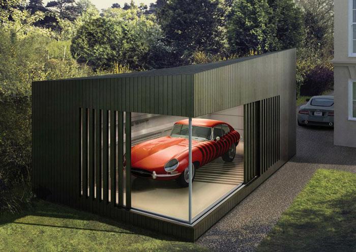 Aparcar con clase los garajes m s chic - Garajes para coches ...