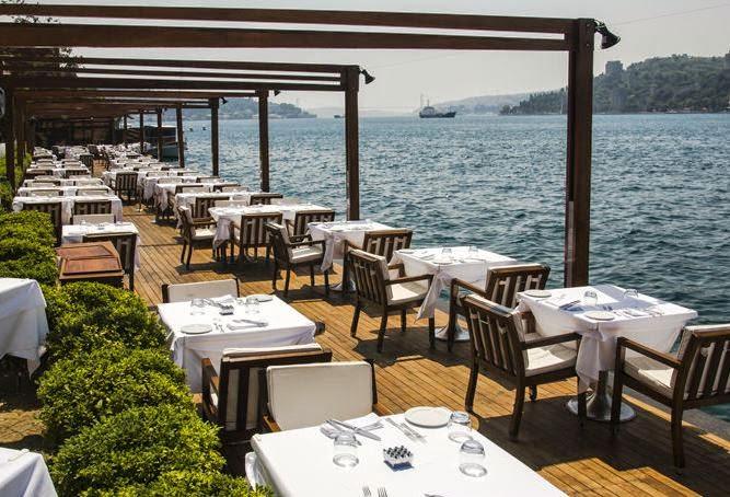 istanbul'un en keyifli brunch mekanları / lacivert anadolu hisarı