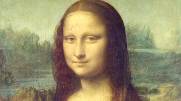 Mona Lisa Image: Intelligent computing