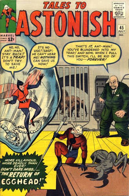 Tales to Astonish #45, Ant-Man and the Wasp vs Egghead