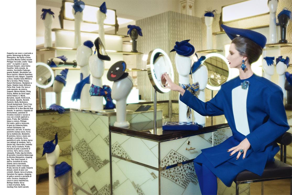 Julia Loomis Vogue