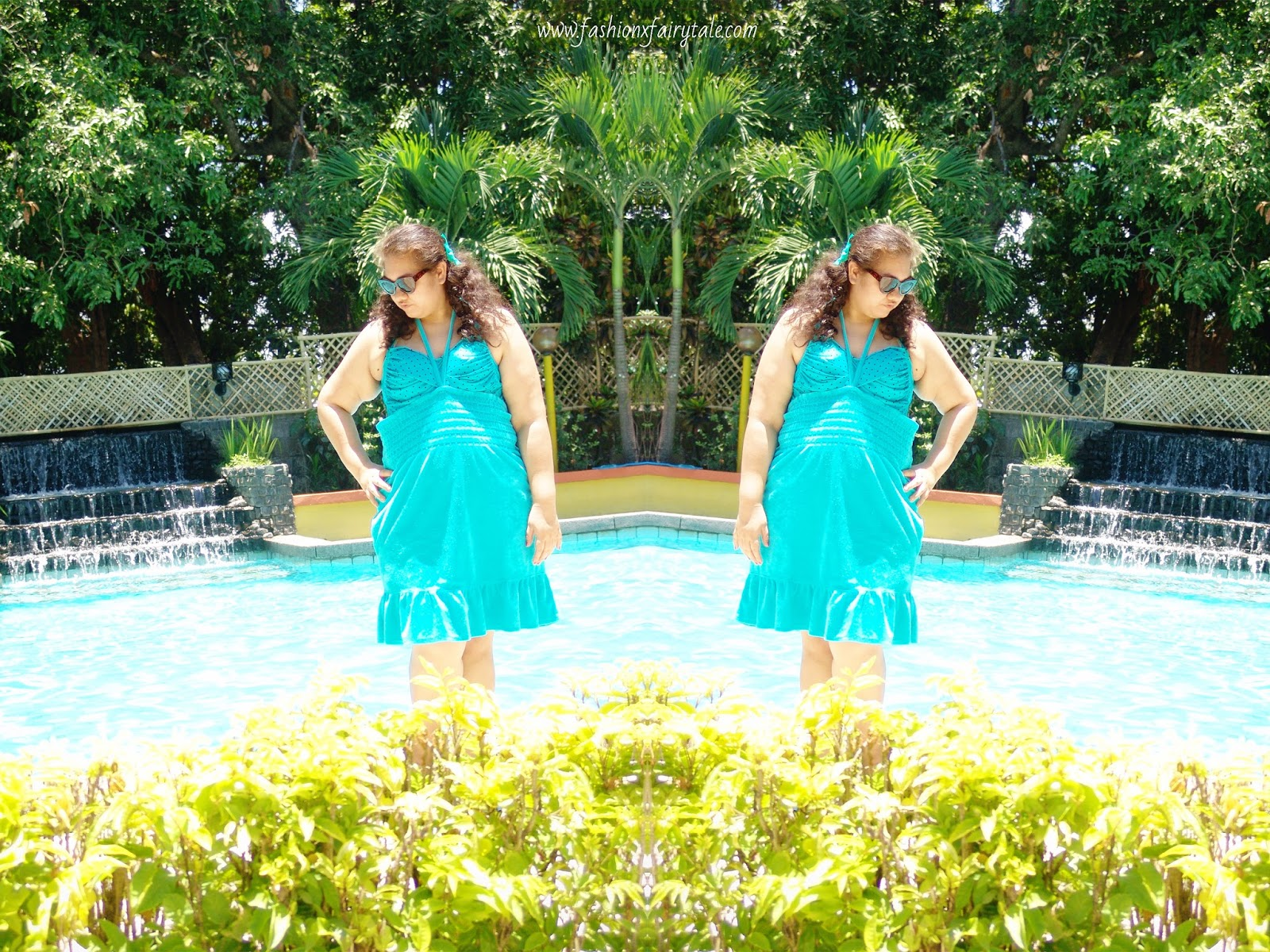 Pool Party Mermaid | What I Wore