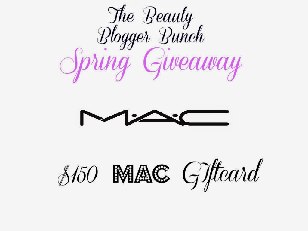 Register To Win a $150 MAC Cosmetics Giftcard, By Barbie's Beauty Bits