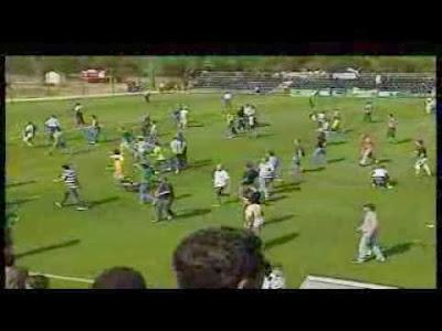 Incidentes no Benfica B - Sporting B - Agressões após o jogo