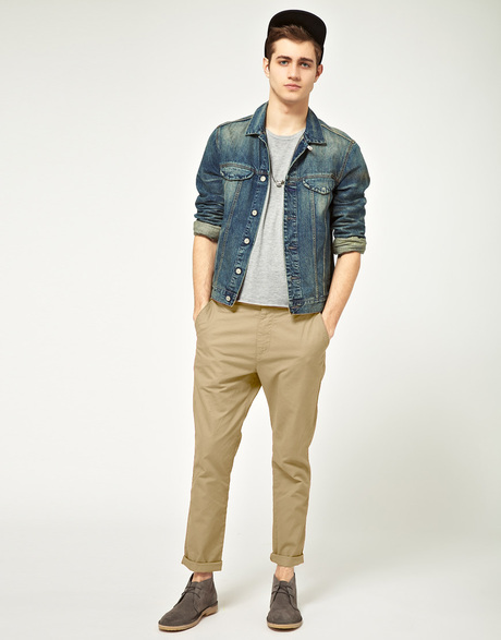 MANtoMEASURE: What to Wear with Beige Chinos or Khaki Pants