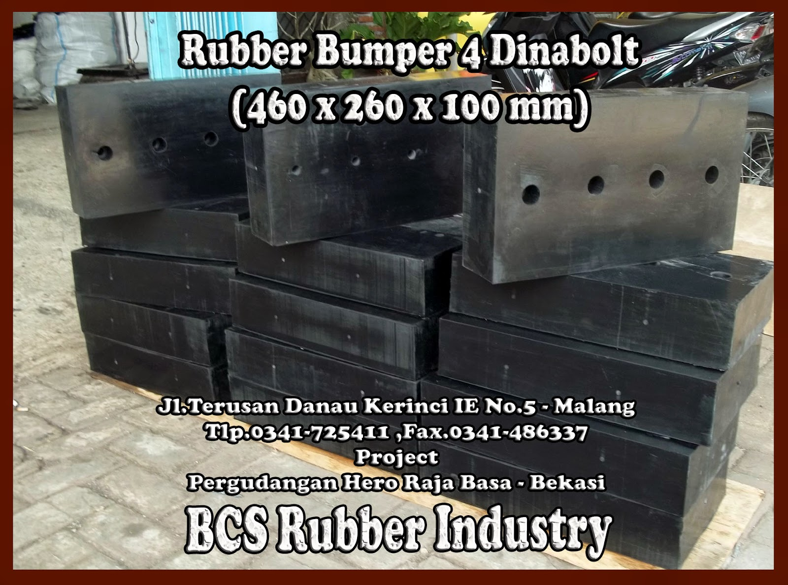 RUBBER DOCK BUMPER