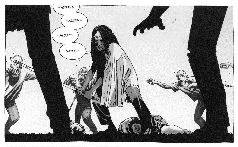 """Vignetta tratta da TWD Vol.06 """"Questa vita dolorosa"""" (pagina 21 - SaldaPress)"""