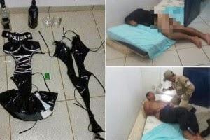 28 Banduan Lari Selepas Warden Penjara Digoda 3 Wanita Berpakaian Fantasi Ala Pakaian Seragam Polis